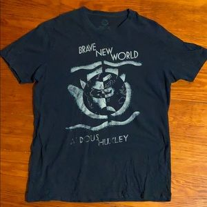 Aldous Huxley Brave New World t-shirt Timely!